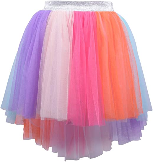 Kid Girls Tutu Skirt Tulle Princess Flower Girl Pettiskirt for Birthday Party
