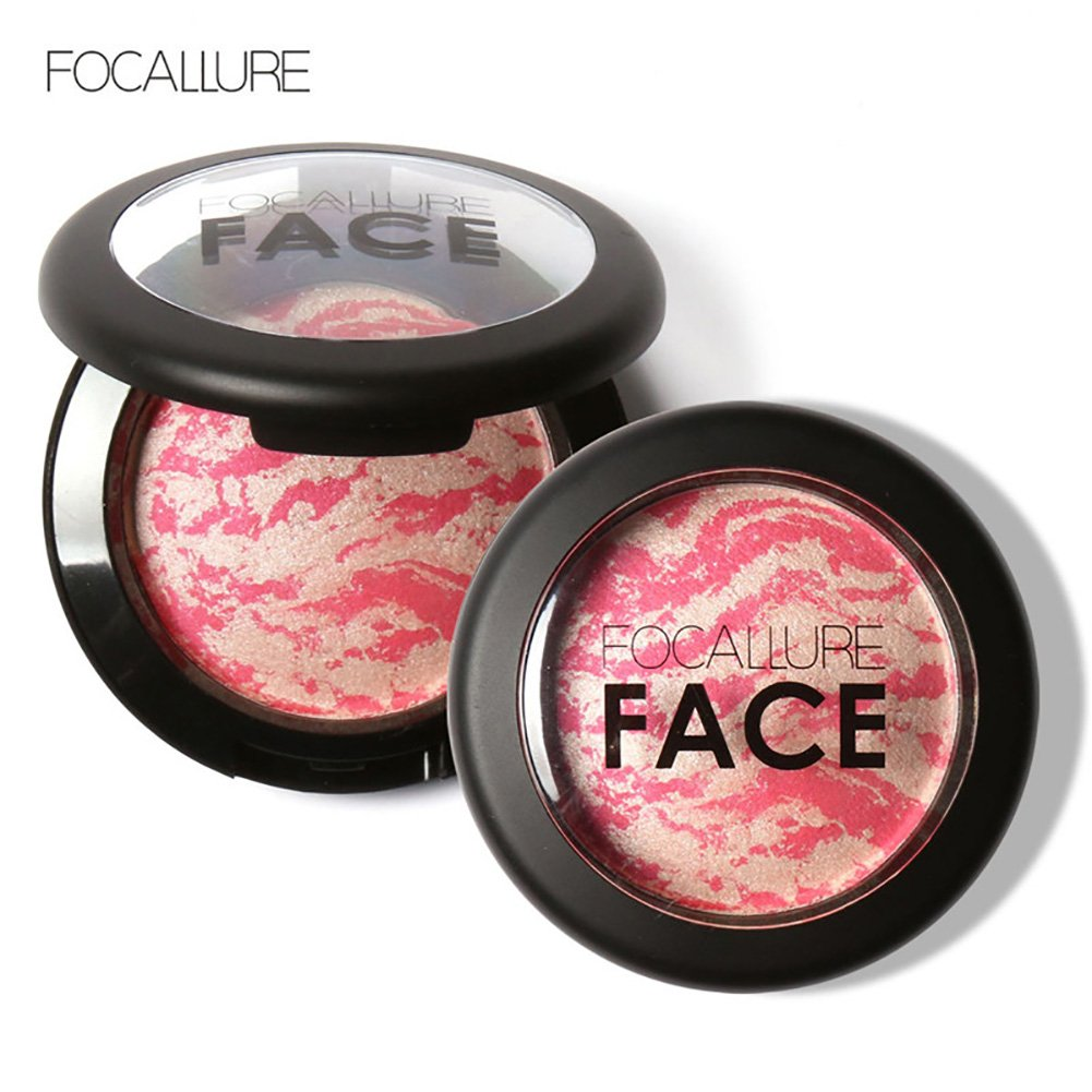 Focallure Natural Face Baked Blush Pressed Powder Makeup Cosmetics 6 Types New (#3)