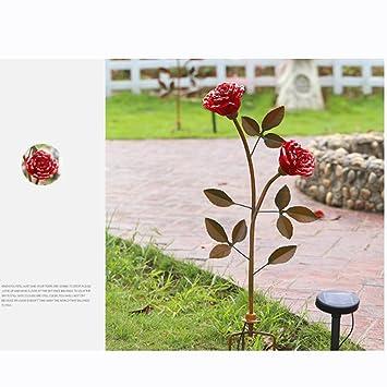 Zhruyy Sonnenlicht Rosen Amerikanisches Dorf Eisenkunst