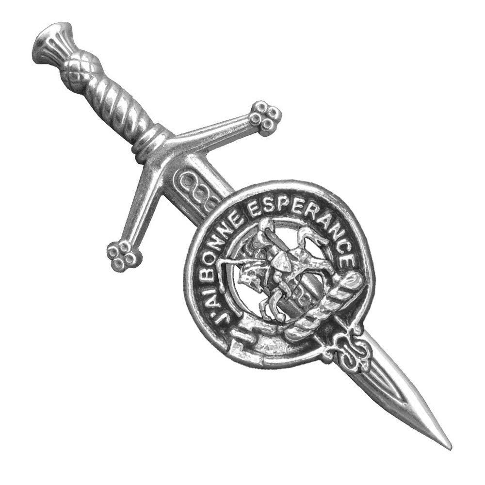Craig Scottish Clan Crest Pewter Badge or Kilt Pin