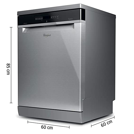 Whirlpool 14 Place Settings Dishwasher Powerclean Pro Wfo3o33 Dlx In Inox
