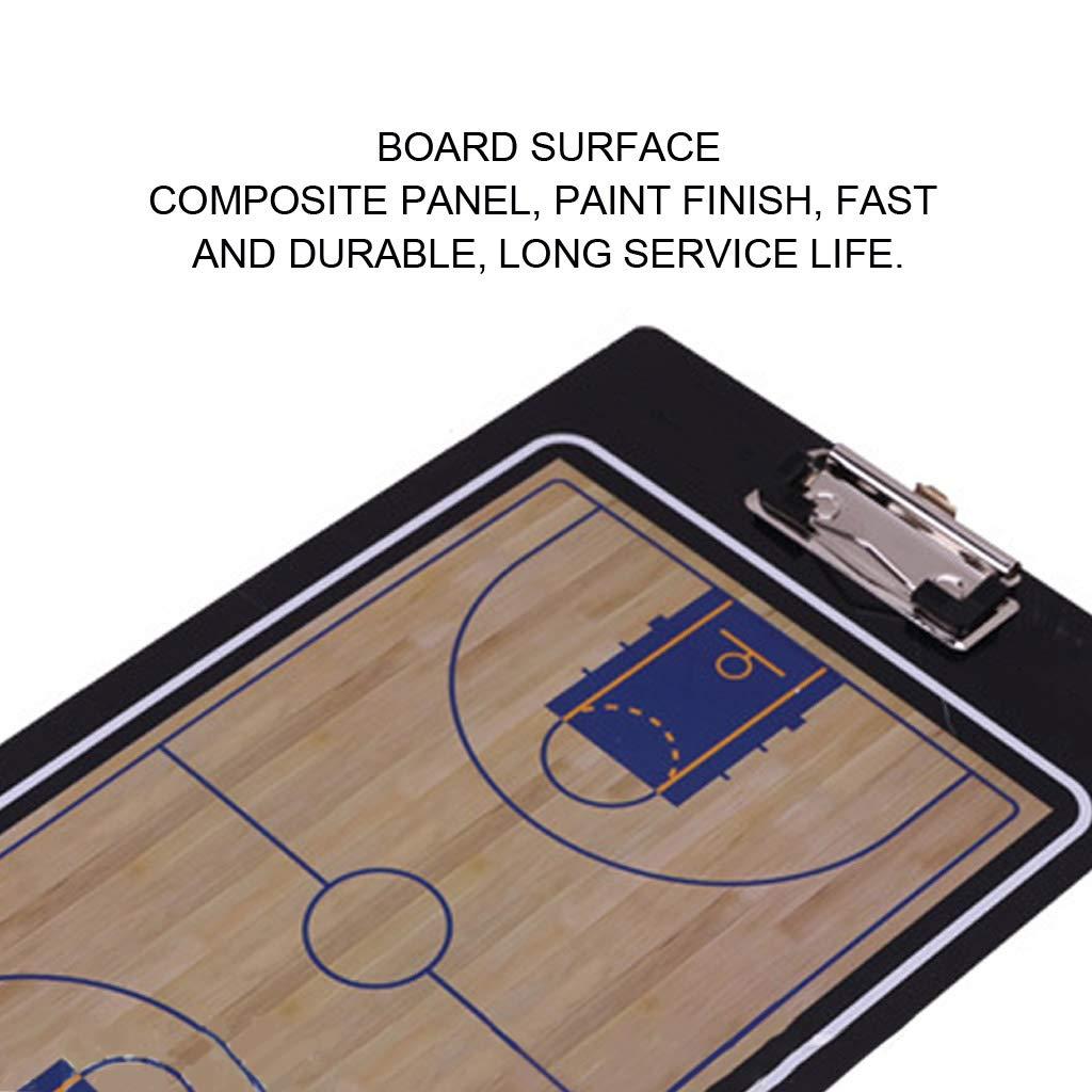 Portapapeles magnético de PVC con diseño de tácticas de baloncesto ...