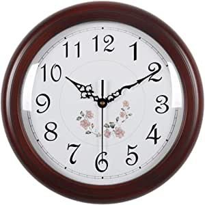 Der - Reloj de Pared silencioso con Mecanismo de Cuarzo ...