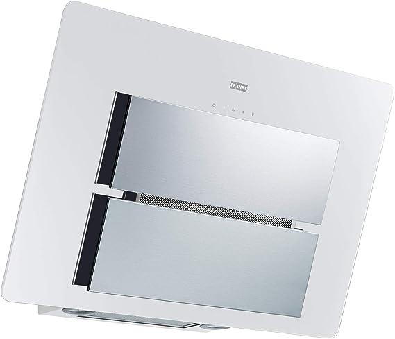 Franke Maris fma807whxs/Campana extractora Campana/pared/LED/eficiencia energética A +/80 cm/cristal blanco de acero inoxidable/330.0507.743: Amazon.es: Grandes electrodomésticos