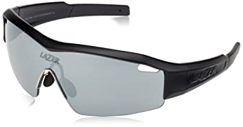 Lazer SS1 Brille, Gloss Black/Red, One Size