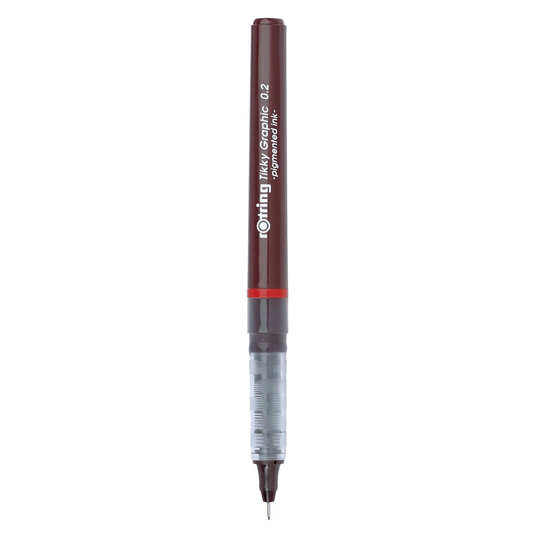 Rotring 1904753 Tikky Graphic penna punta sottile 0,3 mm inchiostro nero