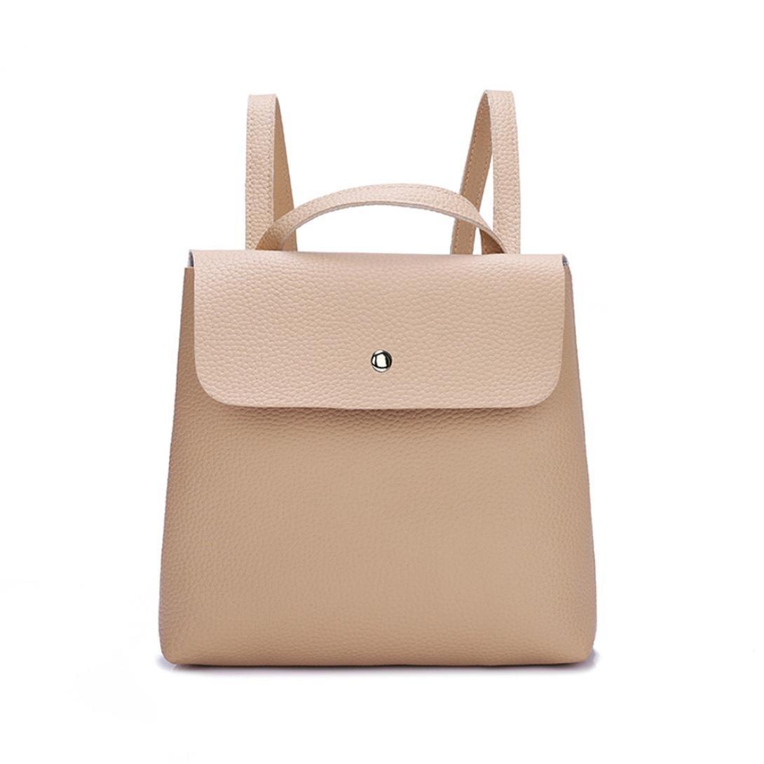 Clearance Deals Girl Shoulder Bag,TOOPOOT Women Elegant Backpack Purse Waterproof School Bag Crossbody Bag