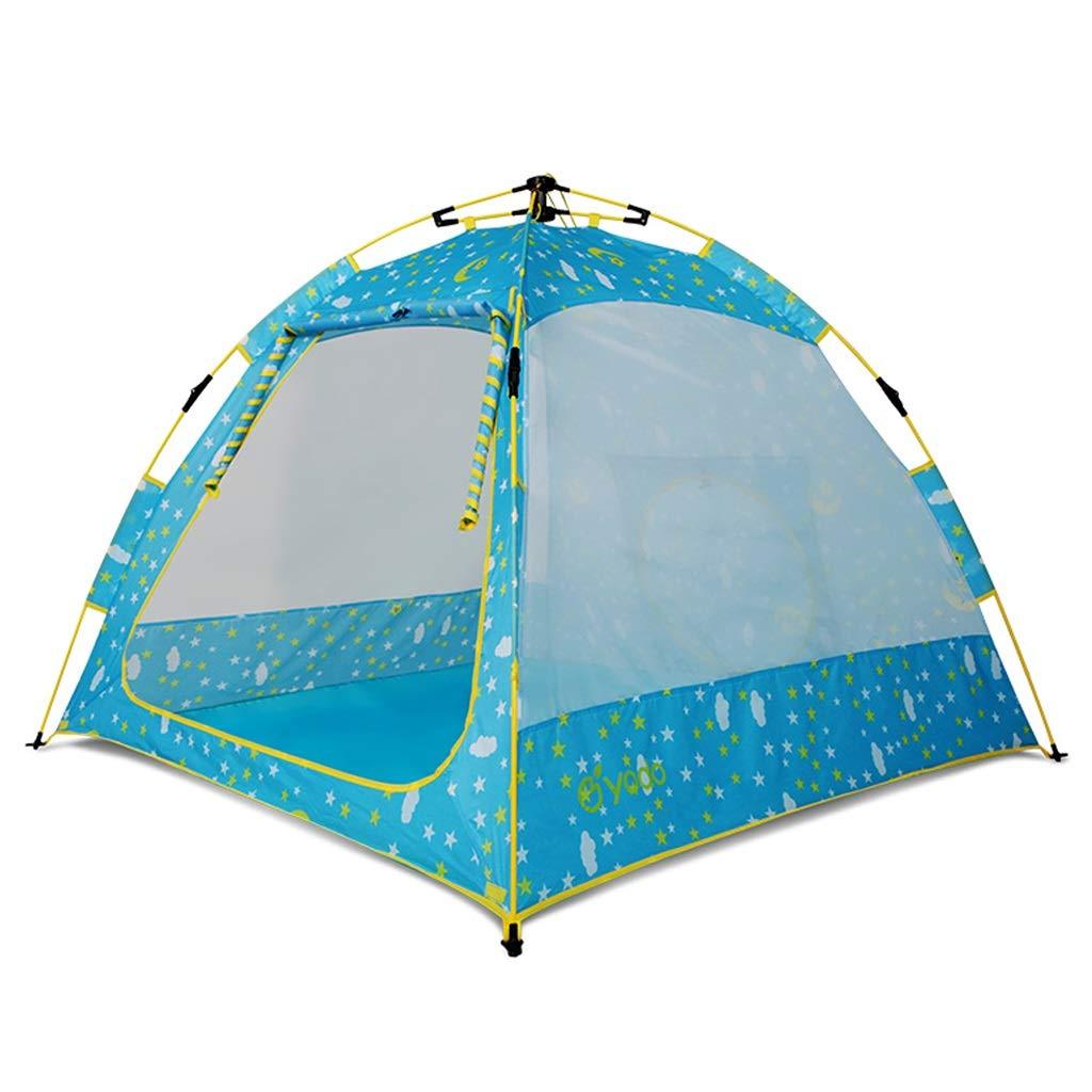 Tiendas de campaña Carpa pequeña para niños Carpa al Aire Libre Carpa para niños a la Moda Carpa de Juguetes para niños en Interiores y Exteriores Carpa para niños (Color : Blue, Size : 148x110cm)