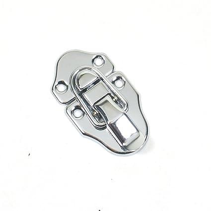0d9e2f99ba Amazon.com: (E10) 1 Drawbolt Closure Latch for Guitar Case /Musical Cases  ,6416 Chrome: Musical Instruments