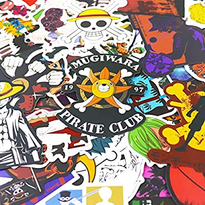 148pcs One Piece Stickers one Piece Anime Stickers: Kitchen & Dining