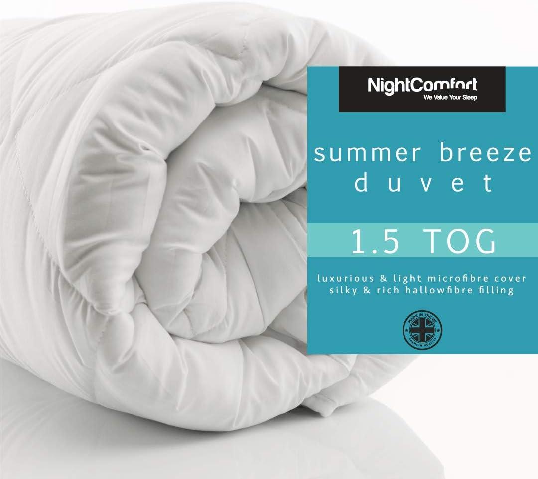 CR 4.5 TOG Lightweight Summer HOLLOW FIBRE QUILT//DUVET ALL SIZES AVAILABLE!!!
