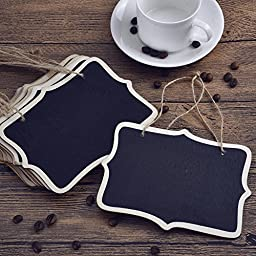 eBoot Mini Rectangle Chalkboards for Message Board Signs