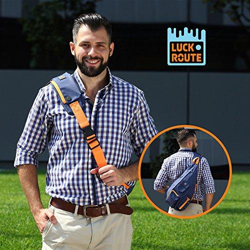 Crossbody Sling Bag – Over Shoulder Backpack for Men & Women with Single Strap