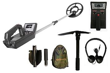 Visua VSMD52 Plus – Detector de metales para principiantes con plato de búsqueda concéntrico y sumergible