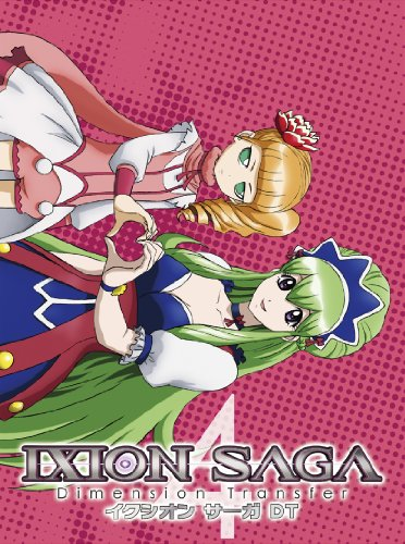 Japanese TV - Ixion Saga Dt 4 [Japan DVD] PCBG-52174