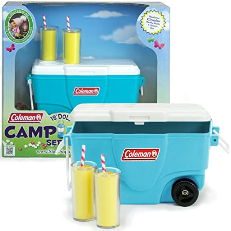 Sophia's Coleman 18 Inch Doll Aqua Cooler & Lemonade Set by Sophia's