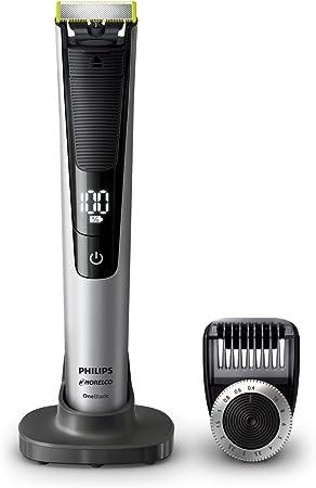 Philips Norelco OneBlade Pro, cortadora eléctrica híbrida y ...