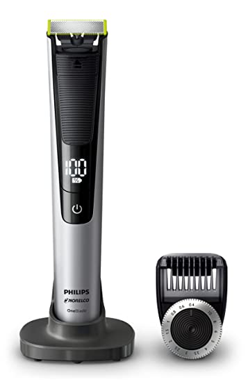 Amazon.com  Philips Norelco Oneblade QP6520 70 Pro Hybrid Electric Trimmer  and Shaver  Beauty ed8ccb69ff