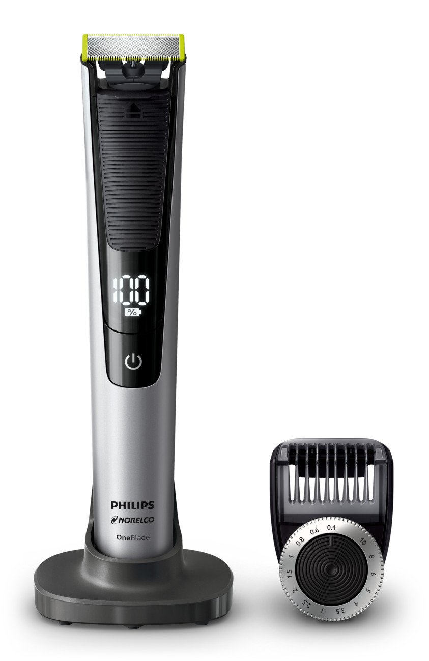 Philips Norelco Oneblade QP6520/70 Pro Hybrid Electric Trimmer and Shaver by Philips Norelco