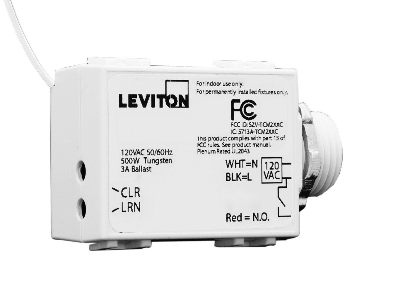 2019年春の Leviton LevNet wst05 – 10 LevNet RF RF Threadedマウント3ワイヤー500リレー受信機、120 VAC B0050T2QDK B0050T2QDK, こども生活クラブ:1ddb9a8f --- a0267596.xsph.ru