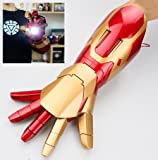Gmasking Electronic Iron Man MK42 Wearable Arc FX Wrist Armor Gauntlet 1:1 Exclusive Props
