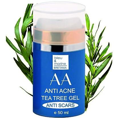 Gel Hidratante Anti Acné con Arbol de Té y Aloe Vera 50 ml - Unisex-