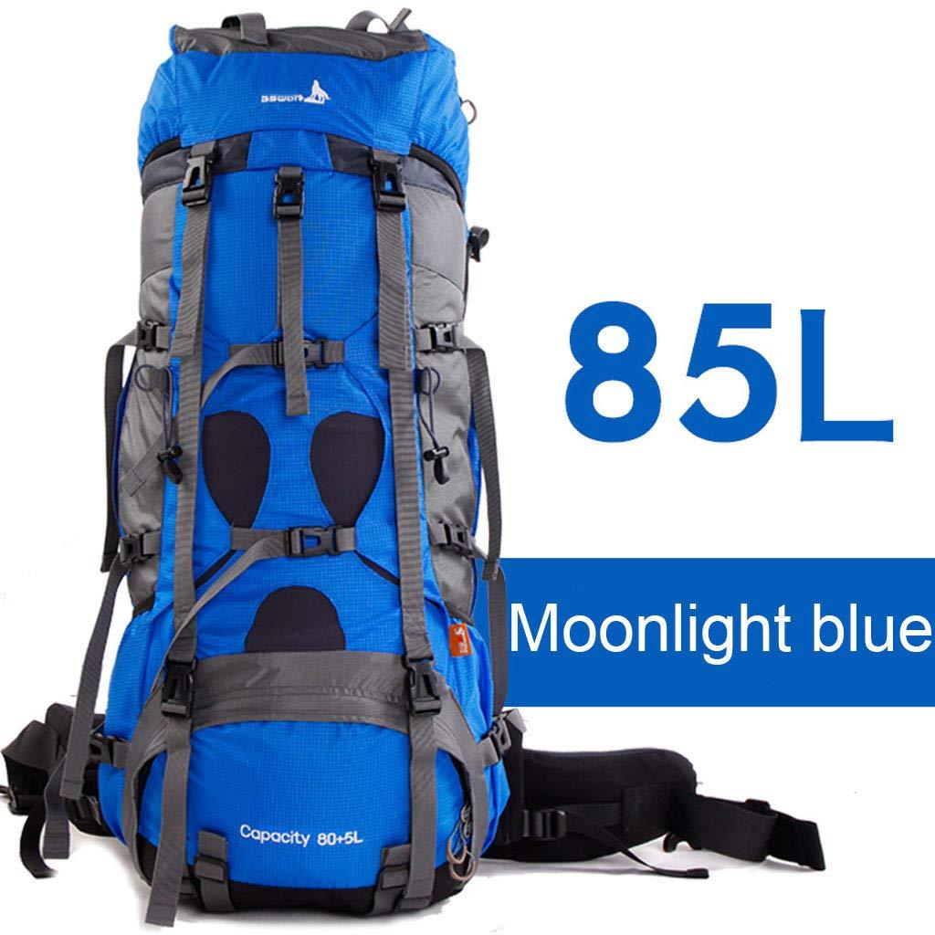 登山バックパック85L大容量ユニセックス防水ハイキングキャンプ乗馬アウトドア多目的バックパック  #2 B07QGCSN5V