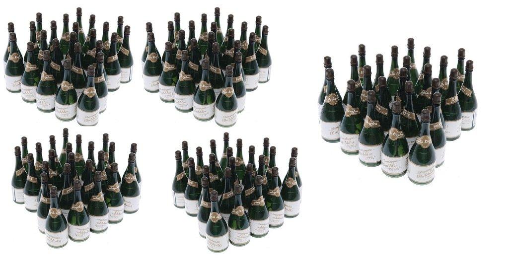 Nicky Bigs Novelties 120 Mini Champagne Bottles Wedding Bubbles New Years Eve Graduation Party Favors by Nicky Bigs Novelties
