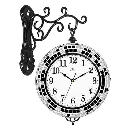 Amazon Com Home Clock Fashion Creative 3d Stereo European Quartz