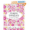 Floral Tangles: A Coloring Book