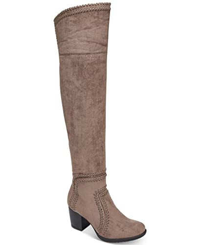 7bb12196e94f0 Amazon.com | AR35 Lauraine Over-The-Knee Boots, Truffle, 7 US | Shoes