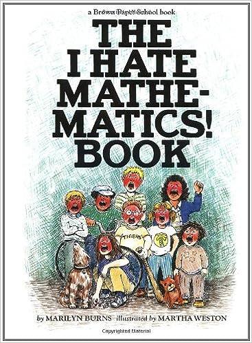 Amazon.com: The I Hate Mathematics! Book (A Brown Paper School ...