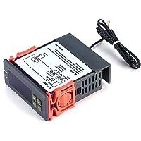 STC-2000 Controlador de Temperatura 220V-55~120C Digital con Sensor