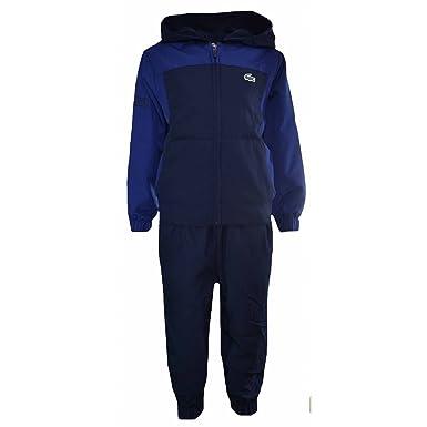 1534e4259 Lacoste Kids Navy and Blue Colour Block Tracksuit 4 Years/104CM:  Amazon.co.uk: Clothing