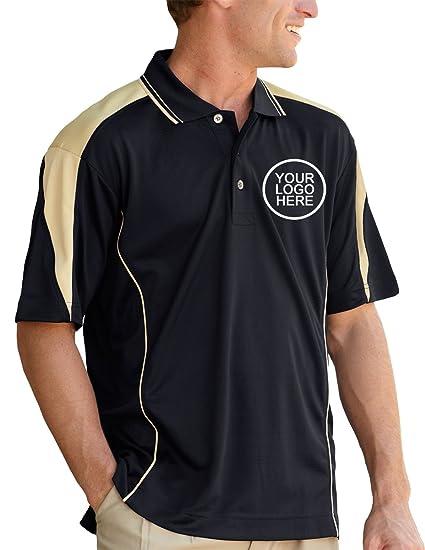 Pro Celebrity Men S Maverick Vegas Polo Shirt With Custom School