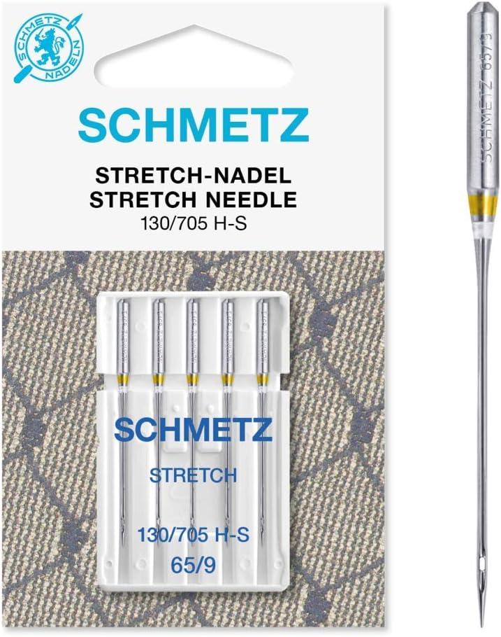 Aguja para máquina de Coser 130/705 H-S de Schmiz, 5 Agujas ...
