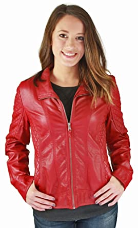 Jessica Simpson Women's Quilted Faux Leather Moto Jacket at Amazon ... : quilted faux leather moto jacket - Adamdwight.com