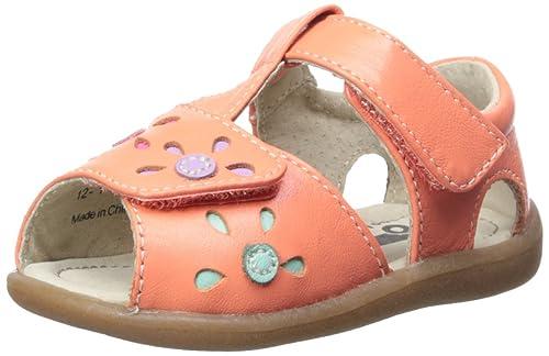 4370dede75c18 See Kai Run Mal B T Strap Sandal (Toddler), Coral, 5 M US Toddler ...