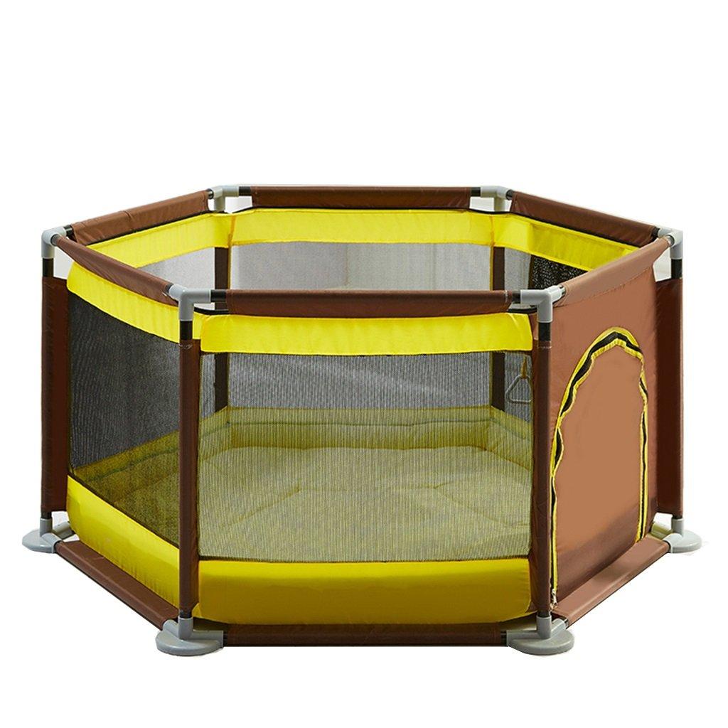 訳あり商品 ベビーサークル マットレスパッド付きの茶色の幼児用プレイラード、屋内アウトドア用の柔らかい大人用新生児用プレイ盤 B07LBR9JTW B07LBR9JTW, NEXT51:ef3108c6 --- a0267596.xsph.ru