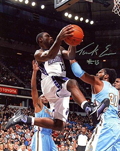 Autographed Evans Picture - Vs Denver Nuggets 8x10 - Autographed NBA Photos ()