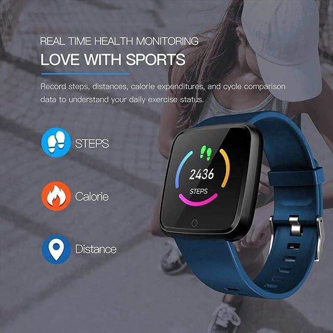 Amazon.com: HUZHAO Smart Watch, IP67 Waterproof 1.3 Inches ...