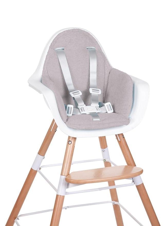 Mouse Grey Childhome Evolu Highchair Cushion