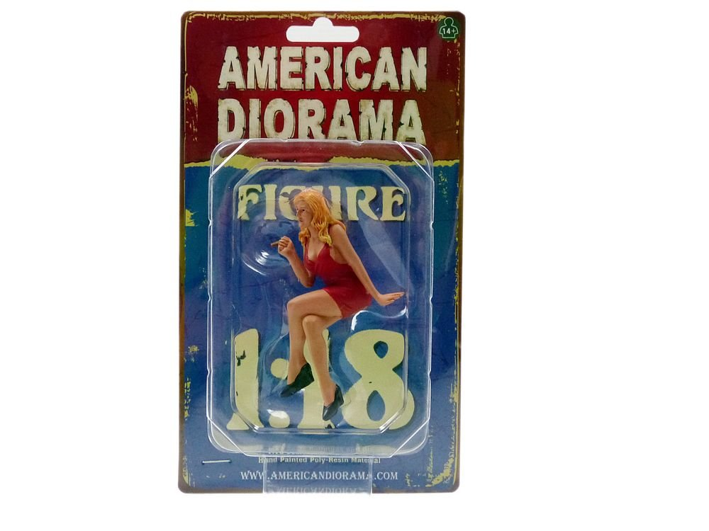 American Diorama 77454–Fahrzeug Miniatur–Figur 70s–4–Maßstab 1/18