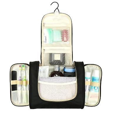 H S Wash Bag Hanging Toiletry Bag Overnight Gym Shaving Folding Bag Travel  Makeup Organiser for Men 735deed0c0