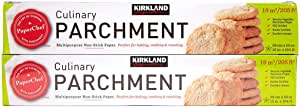 Kirkland Signature Non Stick Parchment Paper 205 sq ft (Twin Pack)