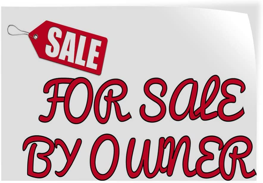 Decal Stickers Multiple Sizes Sale for by Owner A Industrial Vinyl Safety Sign Label Business 20x14Inches
