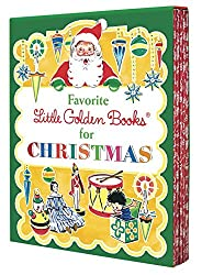 Favorite Little Golden Books for Christmas 5 copy boxed set