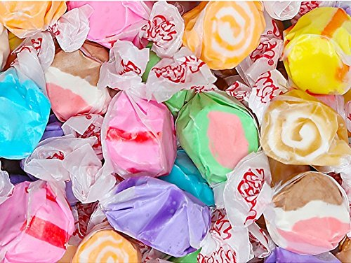 FirstChoiceCandy All Color Gourmet Salt Water Taffy (Assorted, 5 Lb) -