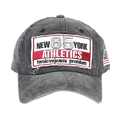 Amazon.com : WLEZY Baseball Cap Unisex Washed Men Women Fashion Adjustable Baseball Sport Snapback Cap Hip-hop Dad Hat Trucker Caps Gorras para Hombre ...