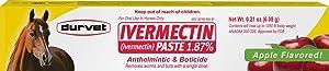 Durvet/Equine 698454 Ivermectin Paste 1.87% Bulk for Horses Apple, 6.08 gm